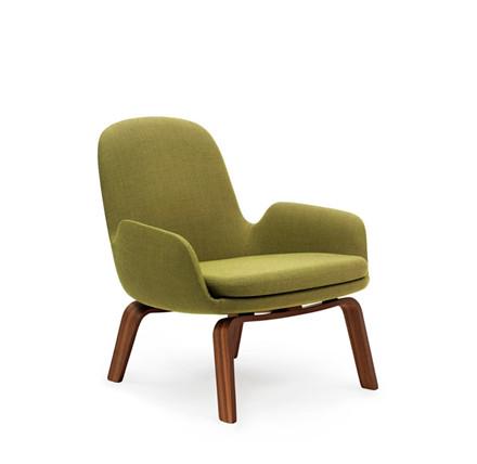Normann Copenhagen Era Lounge Chair Low, Valnød