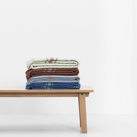Normann Copenhagen Papa plaid, Check Dark