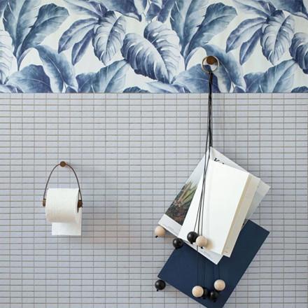 By Wirth toiletrulleholder, Røget eg