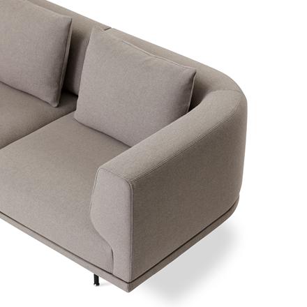 Vipp 632 Chimney sofa - 3 personers i Steelcut Trio 3
