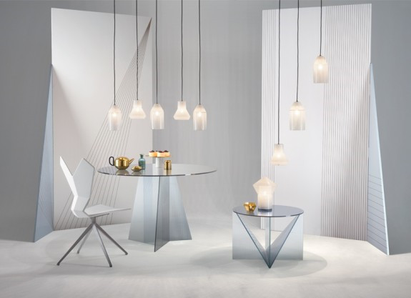 Kob Tom Dixon Trace Glass Coffee Table Sofabord Online Her
