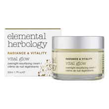 Elemental Herbology Vital Glow Overnight Resurfacing Cream – 50 ml