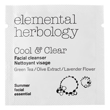 Elemental Herbology Cool & Clear Facial Cleanser – Sample
