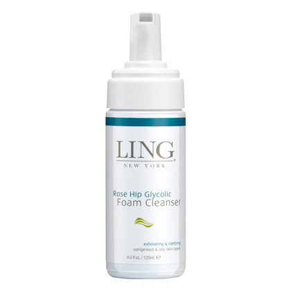 Ling Rose Hip Glycolic Foam Cleanser - 120 ml