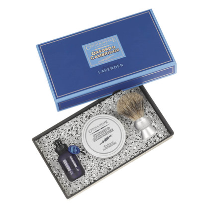 Czech&Speake Oxford & Cambridge Travel Shave Set
