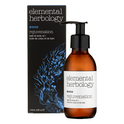 Elemental Herbology Wood Rejuvenation Bath and Body Oil – 145 ml