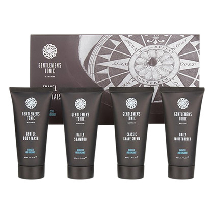Gentlemen's Tonic Travel Essentials - 4 x 50 ml