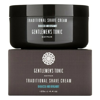 Gentlemen's Tonic Traditional Shave Cream - 125 g
