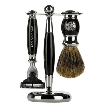 Gentlemen's Tonic Mayfair Shaving Kit Ebony