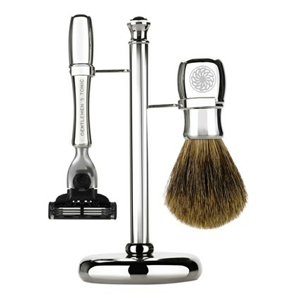 Gentlemen's Tonic Mayfair Shaving Kit Chrome