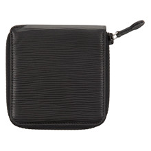 Czech&Speake Zip around Wallet in black leather