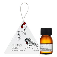 Elemental Herbology Energy Zest Bath & Shower Oil - 30 ml