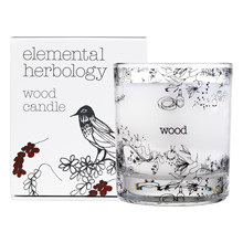 Elemental Herbology Wood Candle