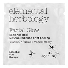 Elemental Herbology Facial Glow Facial Radiance Peel – Sample