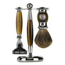 Gentlemen's Tonic Mayfair Shaving Set Horn