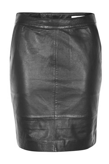 GESTUZ CHAR MINI SKIRT 10900217 SORT