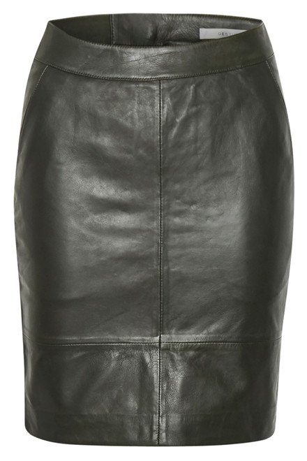 GESTUZ CHAR MINI SKIRT 10900217 Dark green