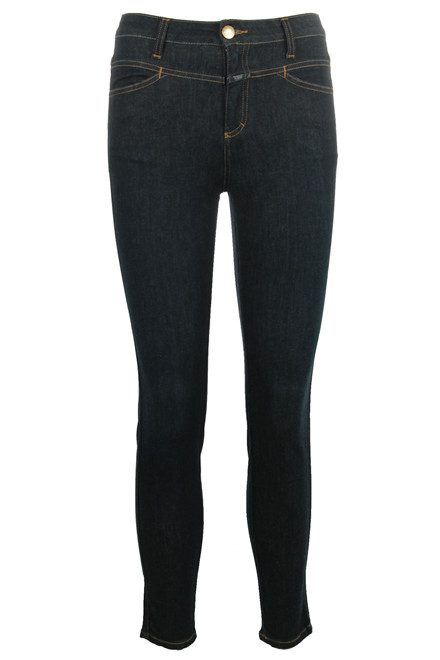 CLOSED Skinny Pusher C91231 MØRK BLÅ DENIM