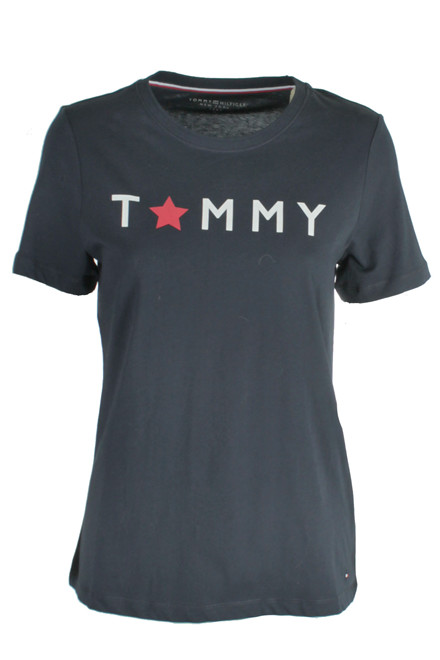 TOMMY HILFIGER TOMMY STAR GRAPHIC C-NK 19534 Navy