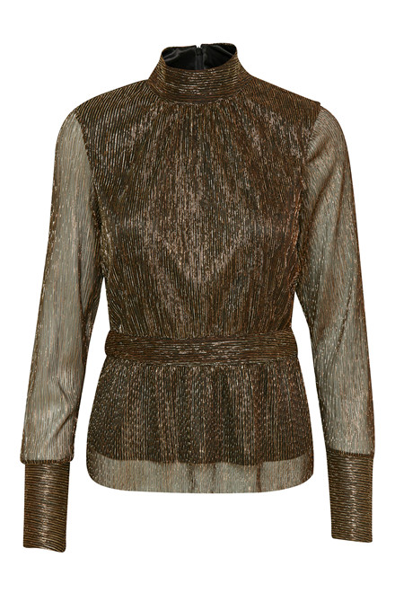 GESTUZ REAGAN BLOUSE 10901541 COPPER