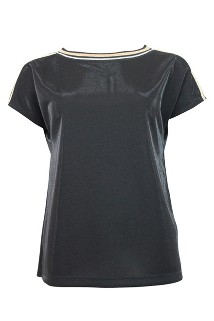 IN FRONT ANNA BLOUSE 12455 SORT