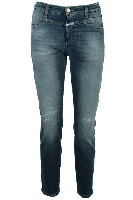 CLOSED SKINNY PUSHER C91231-006-HA BLÅ DENIM