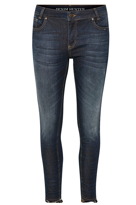 DENIM HUNTER SONIC 7/8 10701732 MØRK BLÅ DENIM