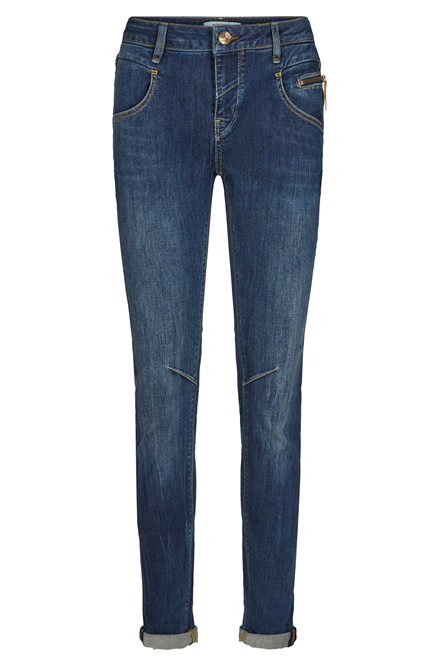 MOS MOSH NELLY FAVOURITE 124450 BLÅ DENIM
