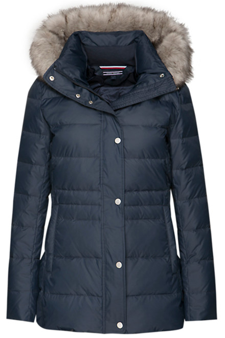TOMMY HILFIGER NEW TYRA DOWN 23103 Navy