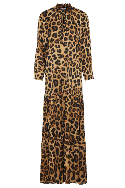 KARMAMIA PHOEBE LEOPARD DRESS  LEO