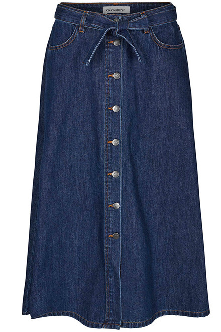CO'COUTURE SANNA DENIM BUTTON 74117 BLÅ DENIM