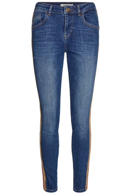 MOS MOSH BRADFORD BLUE CARELL 127430 BLÅ DENIM