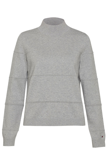 TOMMY HILFIGER PAOLINE TEXTURE 24295 LYSEGRÅ
