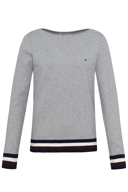 TOMMY HILFIGER NEW IVY BOAT-NK 24294 LYSEGRÅ