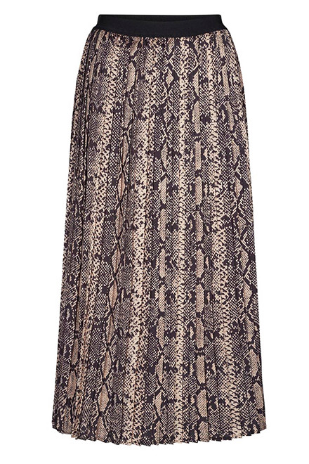 CO'COUTURE SNAKE PLISSE 74259 CAMEL