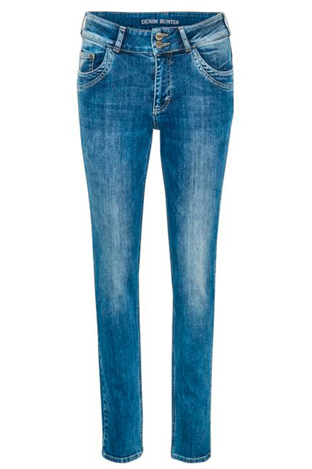 DENIM HUNTER REEF CURVED 10702234 BLÅ DENIM