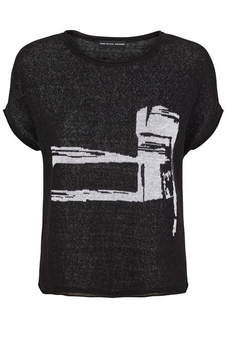 TRINE KRYGER SIMONSEN 1907010 black/white