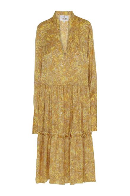 KARMAMIA MABEL DRESS Yellow