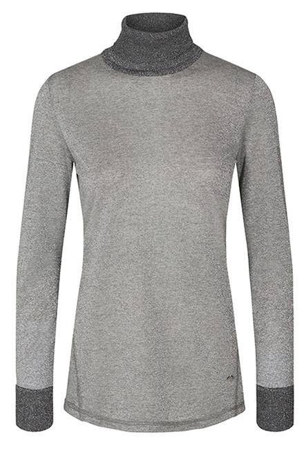MOS MOSH CASIO ROLL-NECK 128890 Grey Melange