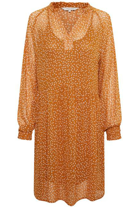 PART TWO Abira 30304839 Dot print, Pumpkin Spice.
