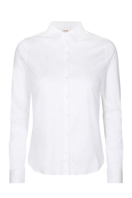 MOS MOSH Tina Jersey Shirt 131660 White