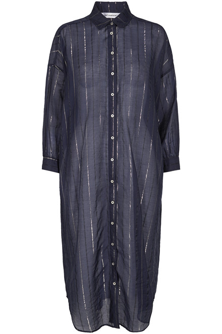CO'COUTURE NYLA SHIRT STRIPE 96188 Navy