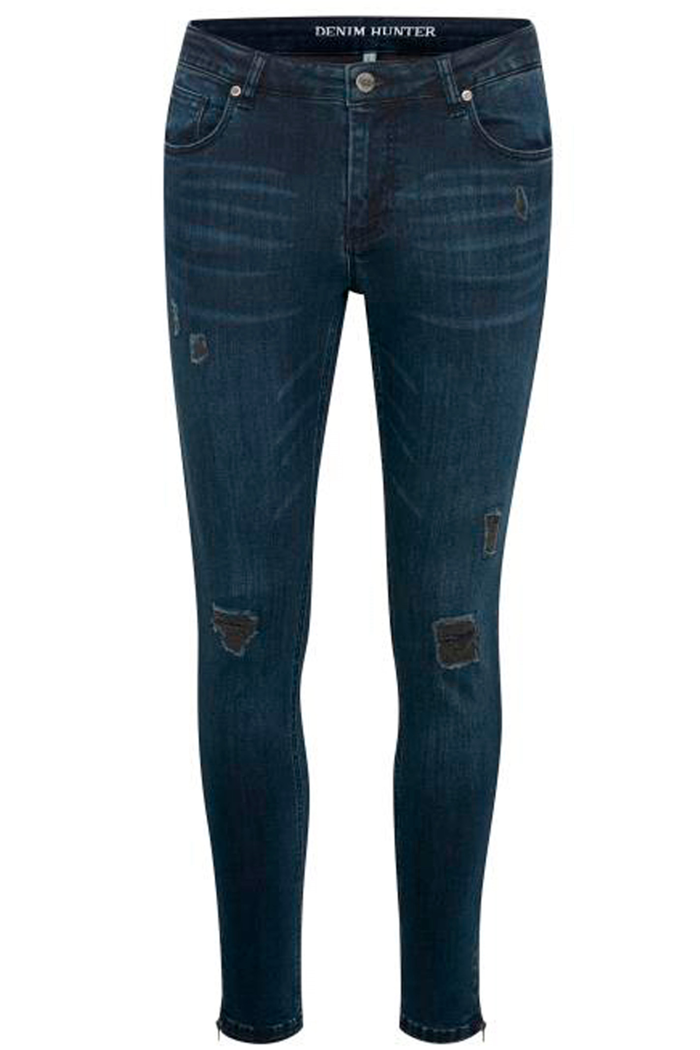 DENIM HUNTER CELINA ZIP TORN 10701894 MØRK BLÅ DENIM