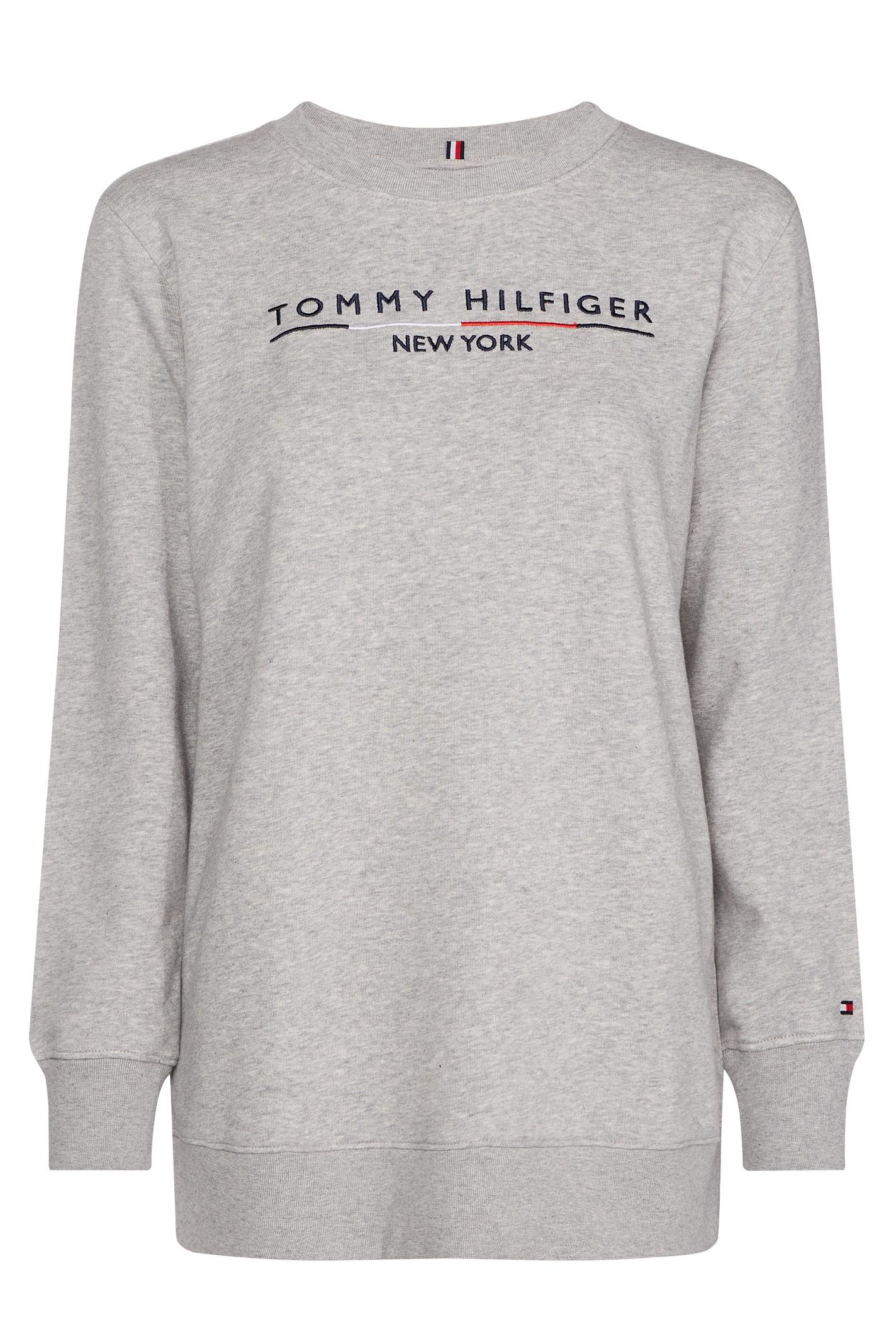 TOMMY HILFIGER CHARLOT C-NK 25164 GRÅ