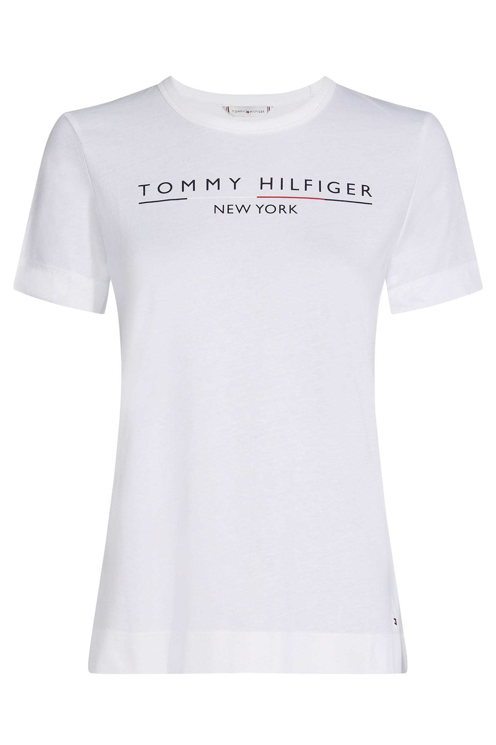 TOMMY HILFIGER CHRISTA C-NK 25603 HVID