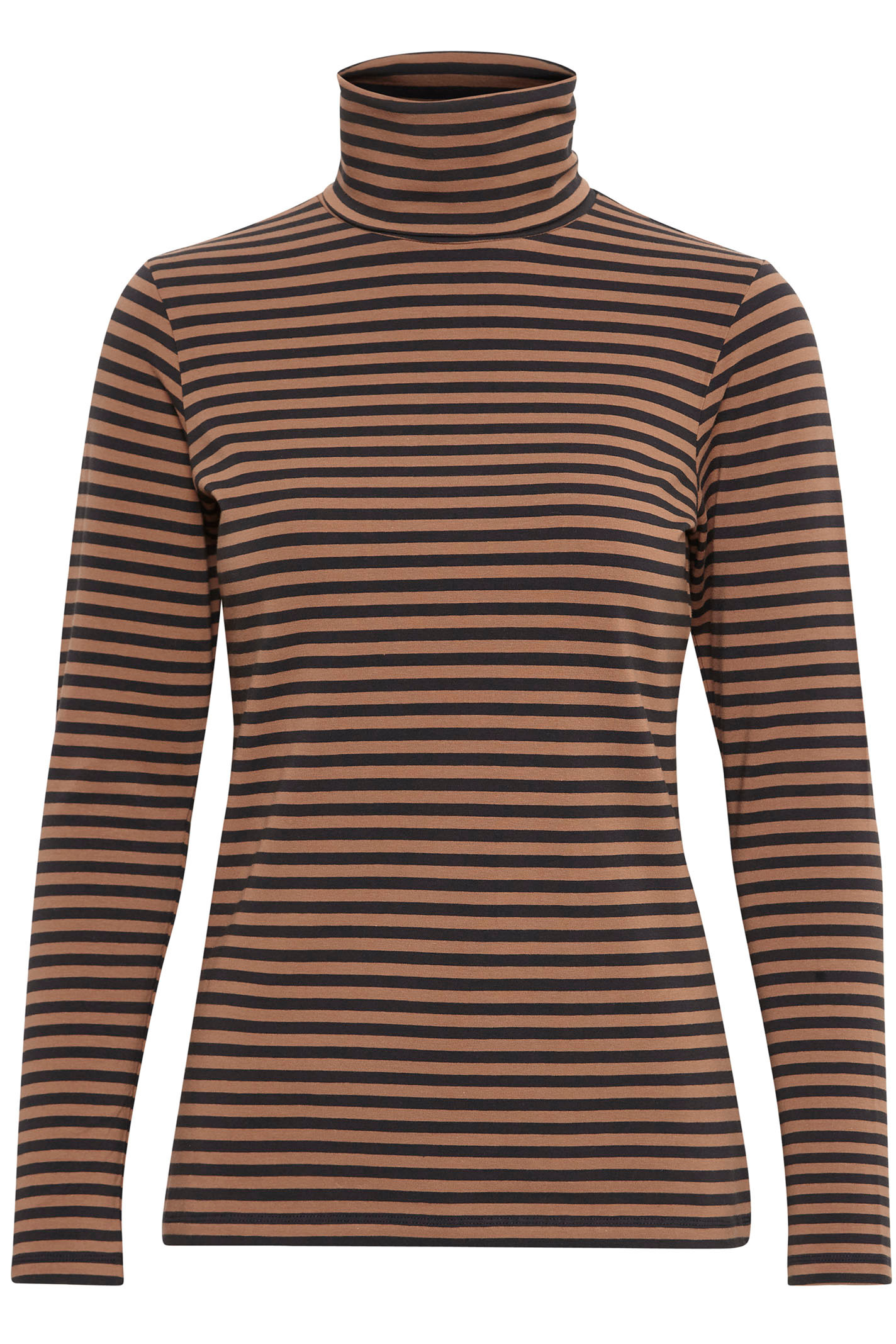 PART TWO 30304500 Striped jersey, Brown.