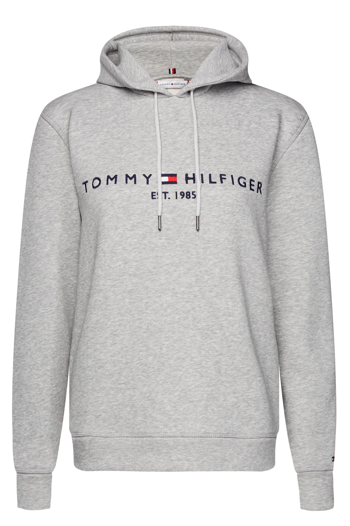 TOMMY HILFIGER ESS HOOD 26410 LT.GREY MELANGE