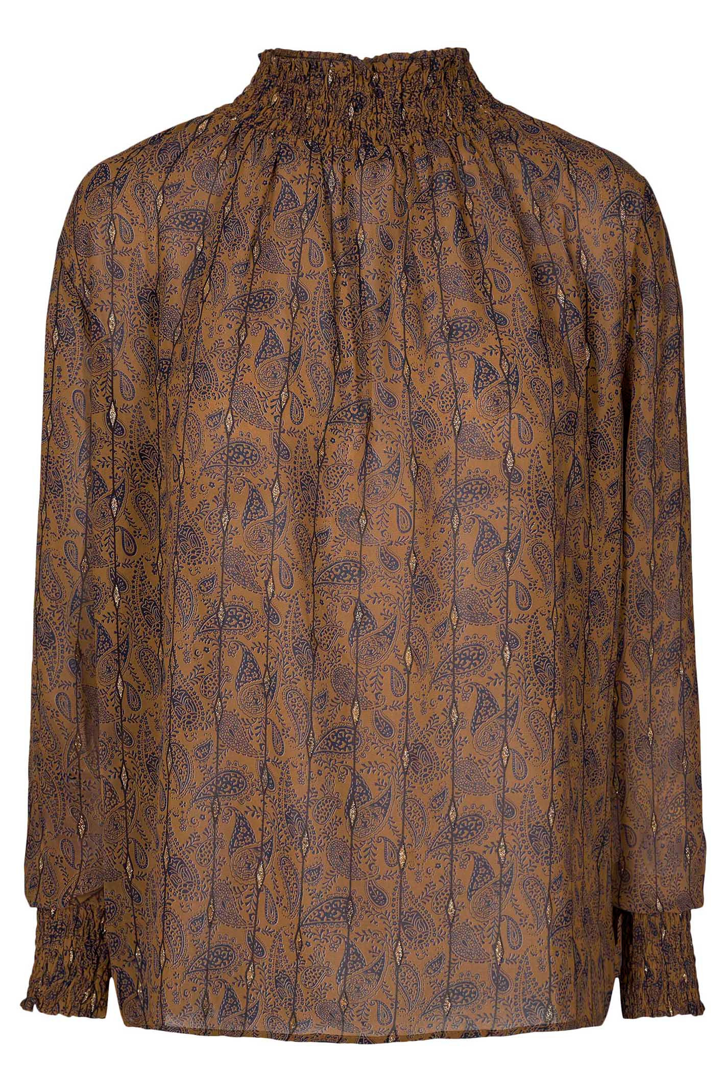 CO'COUTURE MANIC SMOCK 95249 COGNAC