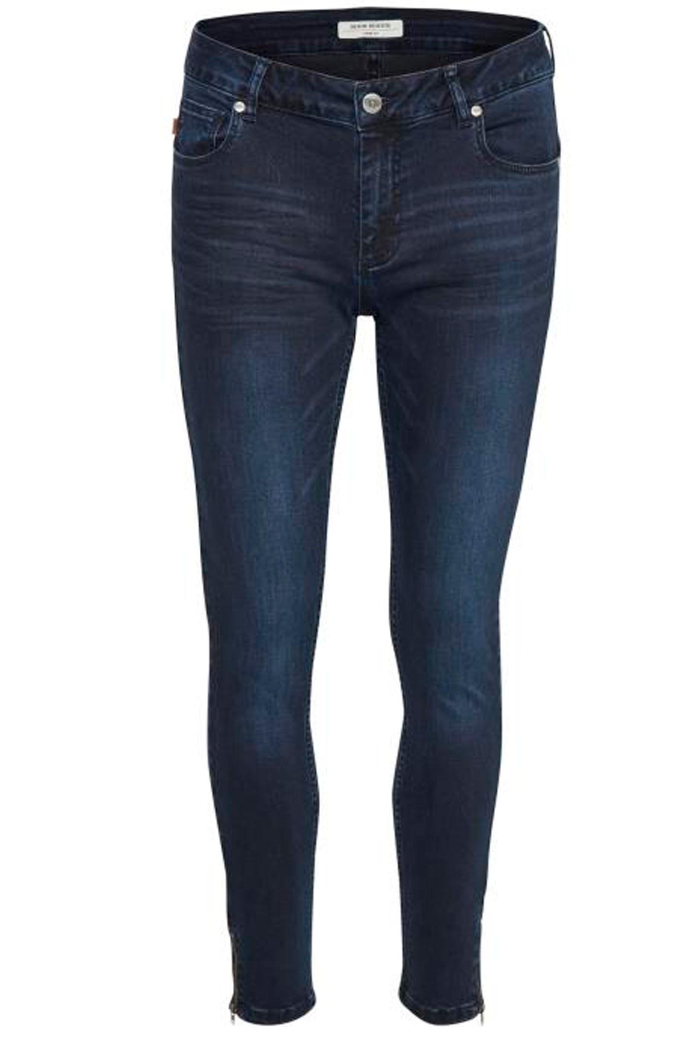 DENIM HUNTER Celina Zip 10702933 Dark blue Wash custom