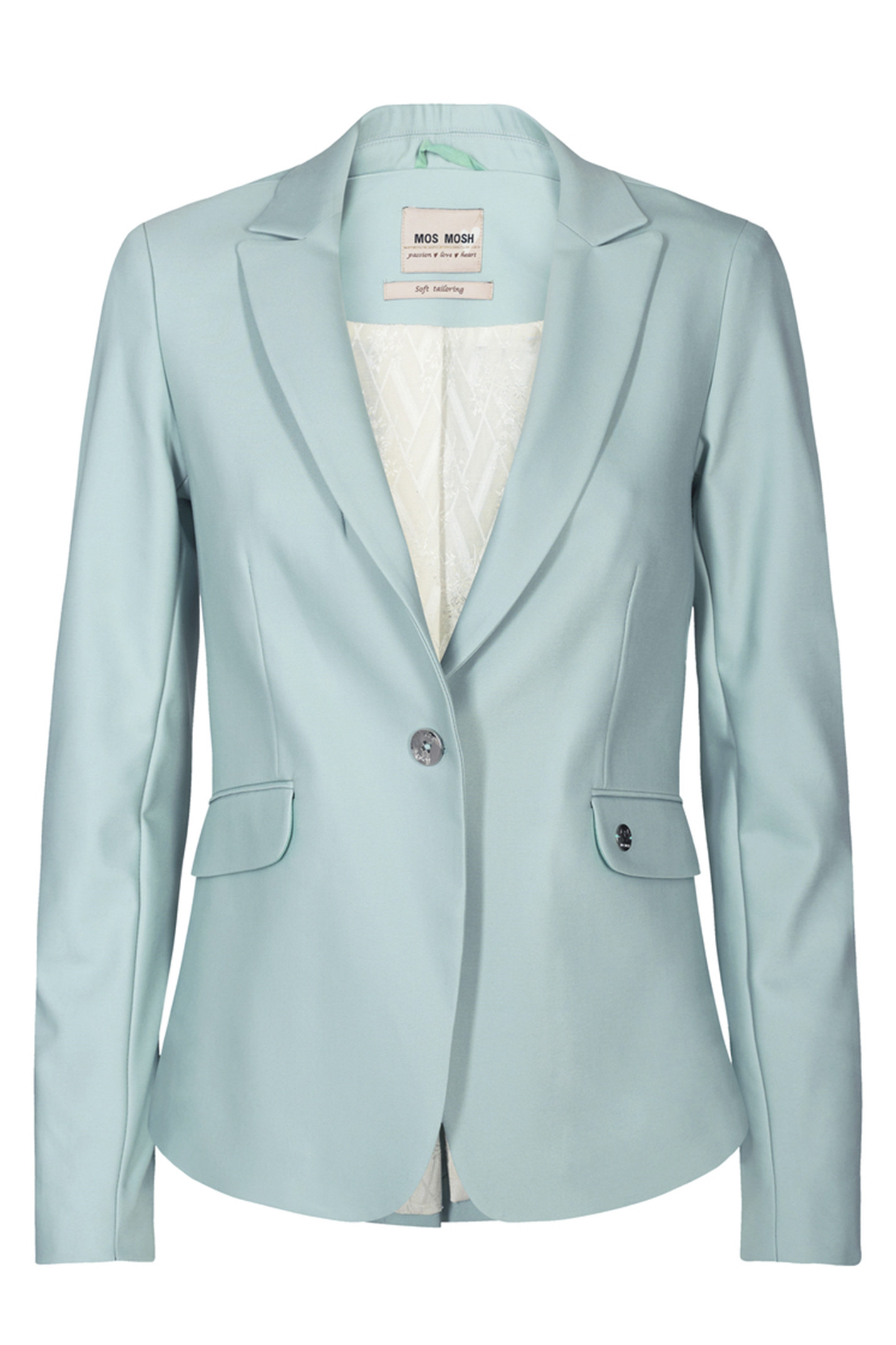 MOS MOSH 112579 Blake Night Blazer Sustainable Mint Haze